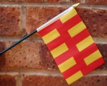 HAND WAVING FLAG (SMALL) - Northumberland